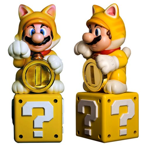 Super Mario 3D World Cat Mario Statue