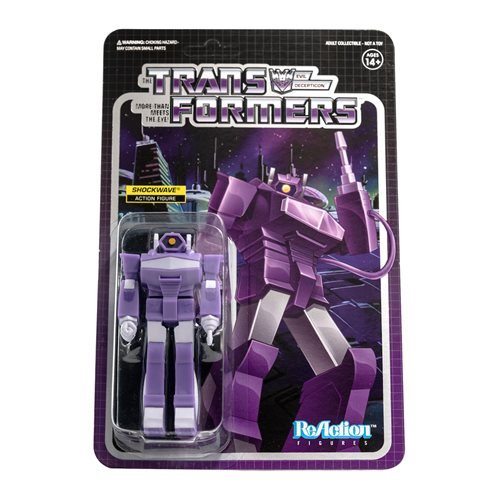 Transformers Shockwave 3 3/4-Inch ReAction Figure