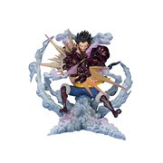 One Piece Monkey D. Luffy Gear 4 Leo Bazooka FiguartsZERO Statue