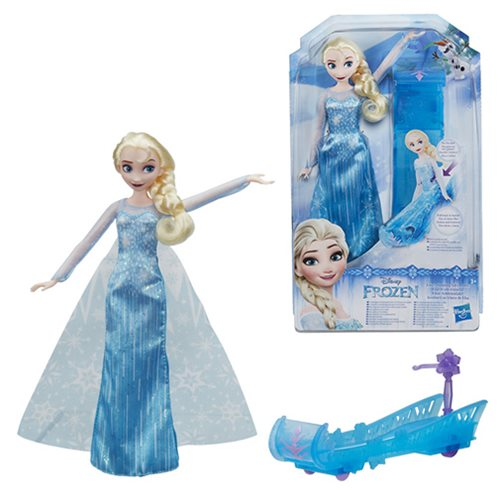 Frozen Sledding Adventures Elsa Doll