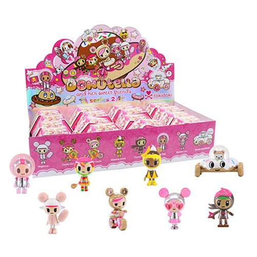 Tokidoki Donutella and Sweet Friends Series 2 Mini-Figures Display Box