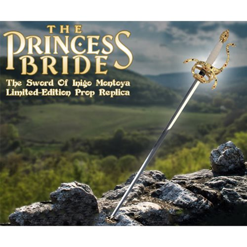The Princess Bride The Sword of Inigo Montoya Prop Replica