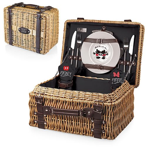 Mickey and Minnie Mouse Champion Picnic Basket
