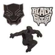 Black Panther Collectible Lapel Pin 3-Pack