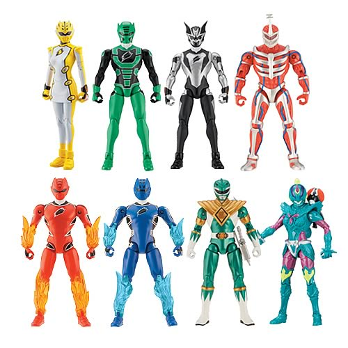Power Rangers 5-inch Wave 4 Action Figure Case