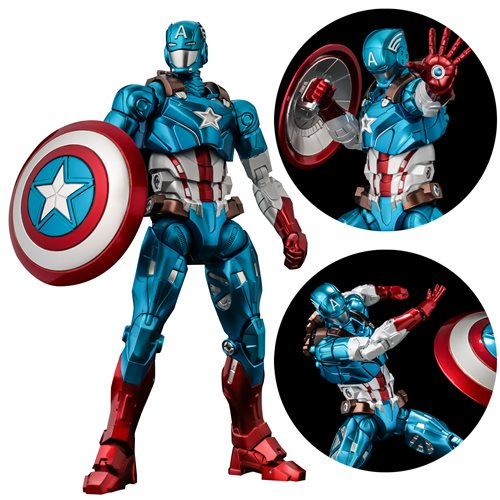 Marvel Captain America Fighting Armor Action Figure