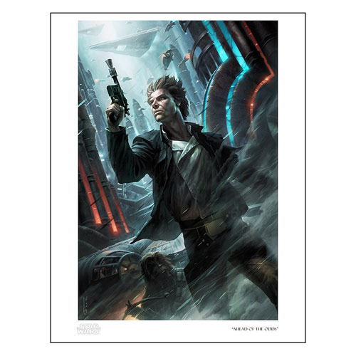 Star Wars Ahead of the Odds by Raymond Swanland Paper Giclee Art Print