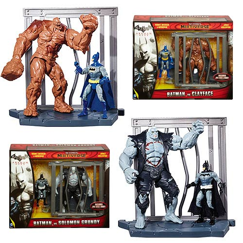 Batman DC Multiverse World Builder Figure 2-Pack Wave 1 Set