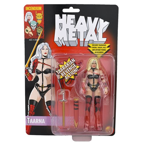 Heavy Metal Movie Taarna 5-Inch FizBiz Action Figure - Blond Variant