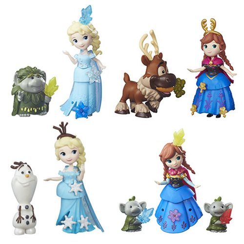 Frozen Small Doll Packs Wave 2 Case