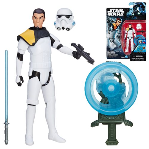 Star Wars Rogue One Rebels Kanan Jarrus (Stormtrooper Disguise) Action Figure, Not Mint