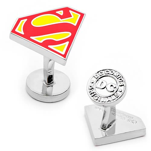 Superman Shield Cufflinks