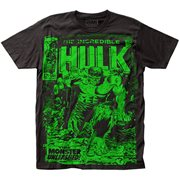 The Incredible Hulk Monster Unleashed Black T-Shirt