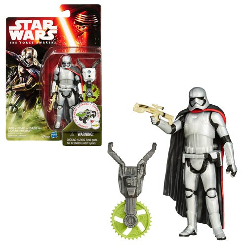 Star Wars: The Force Awakens 3 3/4-Inch Jungle and Space Captain Phasma Action Figure