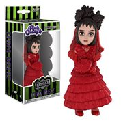 Beetlejuice Lydia Deetz Red Wedding Dress Rock Candy Vinyl Figure