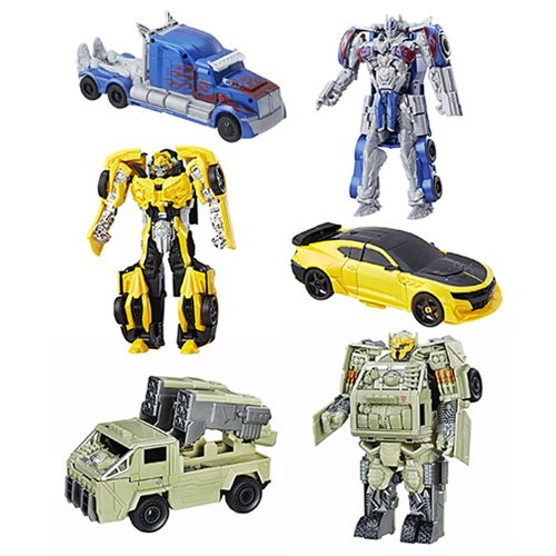 Transformers The Last Knight Armor Turbo Changers Wave 3
