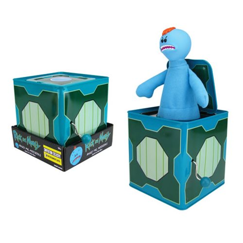 Rick and Morty Angry Mr. Meeseeks Jack-in-the-Box - Convention Exclusive
