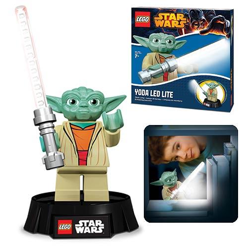 Lego Star Wars Yoda Led Desk Lamp