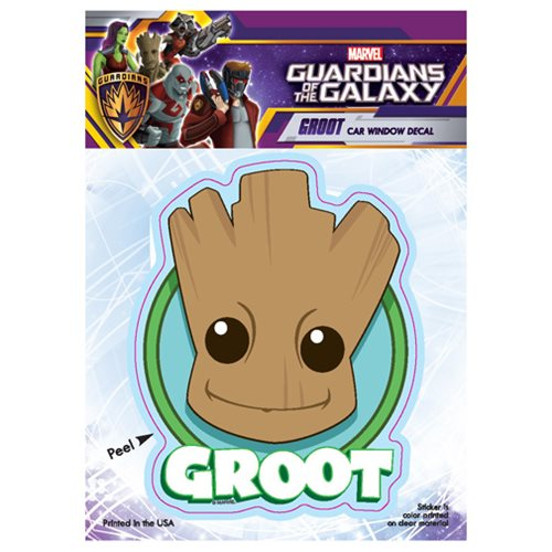 Guardians of the Galaxy Groot Head Decal
