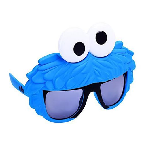 Sesame Street Cookie Monster Sun-Staches