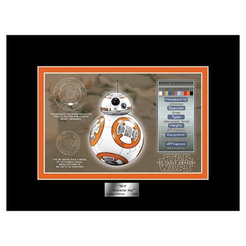 Star Wars: The Force Awakens BB-8 Character Key