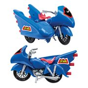 Batman DC Comics Batcycle Vehicle (Blue)