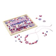 Melissa & Doug Created by Me! Sparkle & Shimmer Beads Wooden Bead Kit