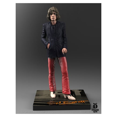 Syd Barrett Rock Iconz Statue