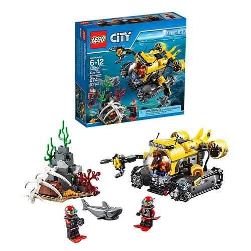 LEGO City Deep Sea Exploration 60092 Deep Sea Submarine