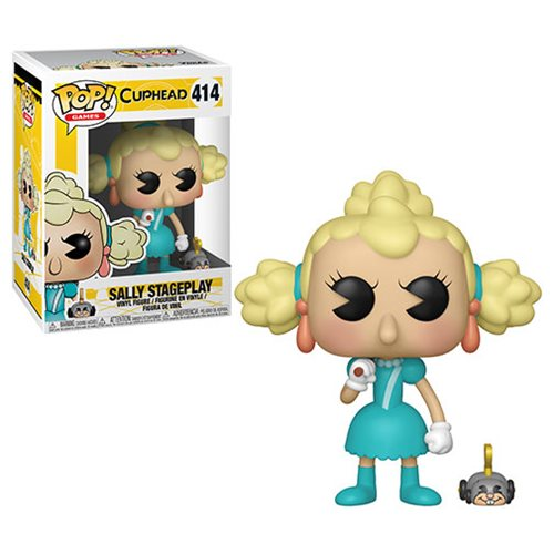 Cuphead Sally Stageplay Pop! Vinyl Figure #414