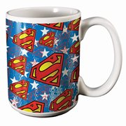 Superman Logo 14 oz. Mug
