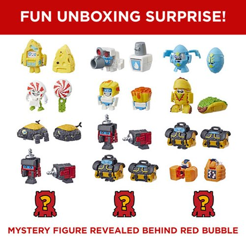 Transformers BotBots Shed Heads 5-Pack (Random)