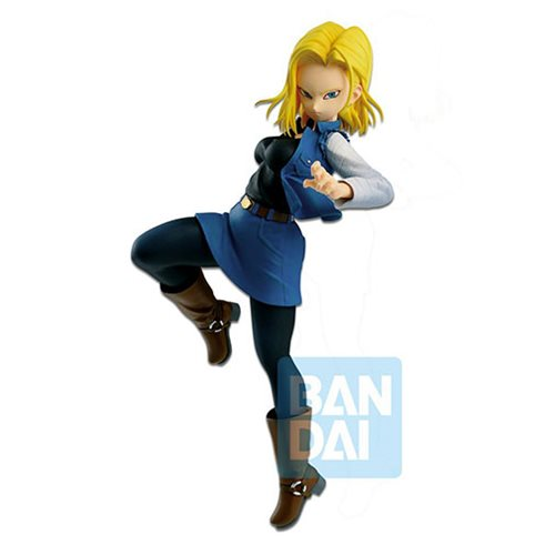 Dragon Ball FighterZ The Android Battle Android 18 Statue