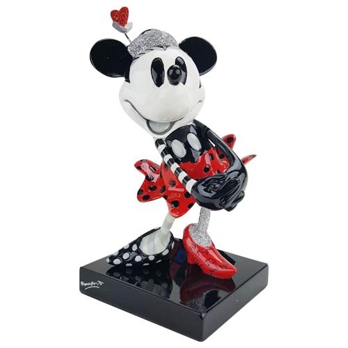 Disney Steamboat Minnie Mouse Statue by Romero Britto