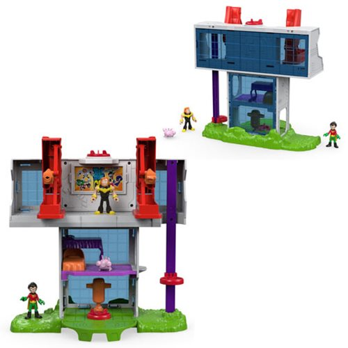 Teen Titans Go! Imaginext Tower Playset