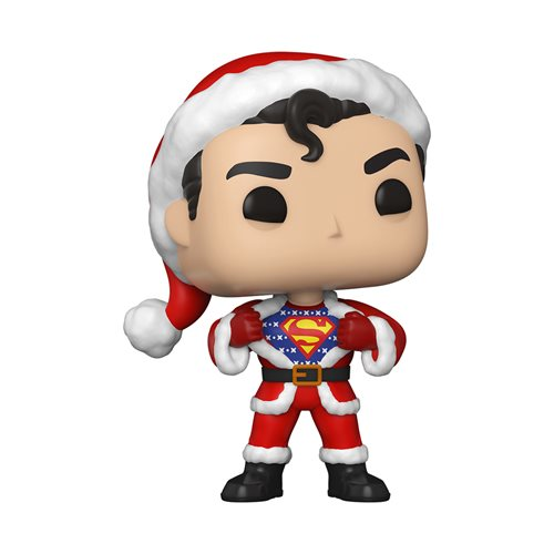 DC Holiday Superman with Sweater Pop! Vinyl Figure