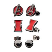 Black Widow 3-Piece Earrings Set