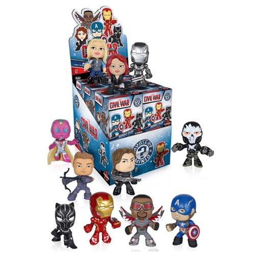 Captain America: Civil War Mystery Minis Vinyl Figure Display Case
