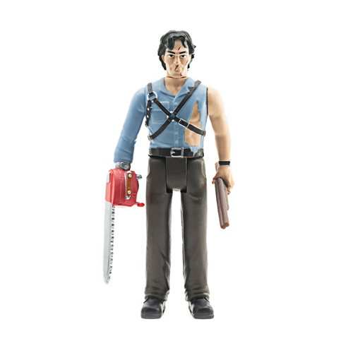 Army of Darkness Ash with Chainsaw Hand 3 3/4-Inch ReAction Figure