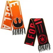 Star Wars Rebel and Imperial Reversible Jacquard Scarf