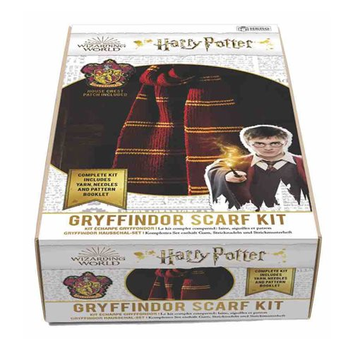 Harry Potter Gryffindor House Scarf Knitting Kit