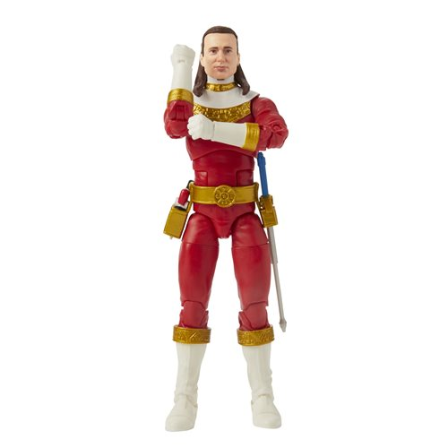 Power Rangers Lightning Collection Zeo Red Ranger 6-Inch Action Figure