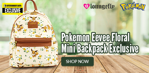 Pokemon Eevee Floral Mini Backpack - EE Exclusive