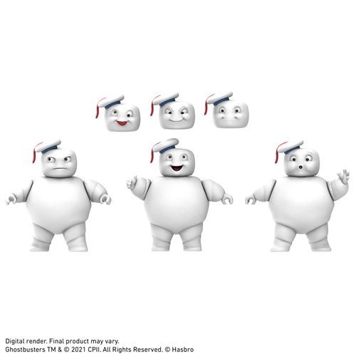 Ghostbusters Plasma Series Mini-Pufts Action Figures 3-Pack