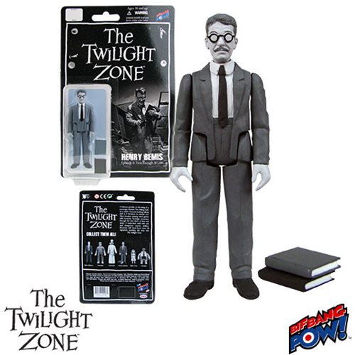 The Twilight Zone Henry Bemis 3 3/4-Inch Action Figure Series 1