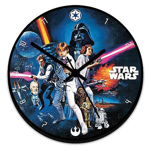 Star Wars Wood Wall Clock