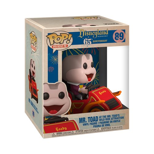 Disneyland 65th Anniversary Mr. Toad in Car Pop! Vinyl Ride