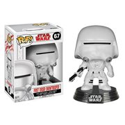 Star Wars: The Last Jedi First Order Snowtrooper Pop! Vinyl Bobble Head #67
