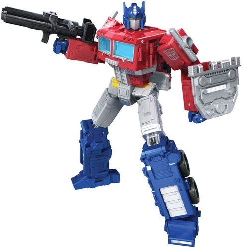 Transformers War for Cybertron Kingdom Leader Optimus Prime