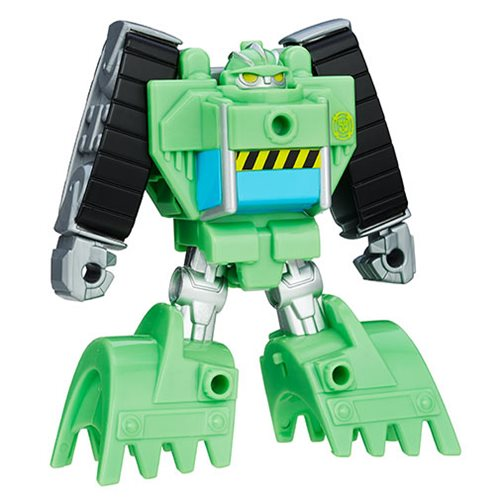 Transformers Rescue Bot Boulder Rescan Figure, Not Mint
